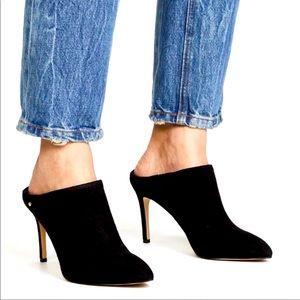 Sam Edelman Black Mule Heels 7.5